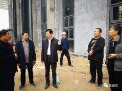 西华县委书记林鸿嘉现场督导城区绿化和体育馆群艺馆建设