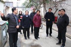 市人大主任李萍到我区调研国家卫生城市复审迎检工作