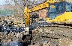 湛河上游4条支沟污水导流工程加紧建设