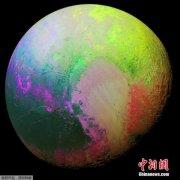 """科学家发现""""冥王星之心"""":或藏100公里深海洋"""