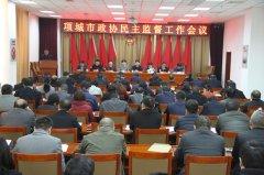 市政协召开民主监督工作会议