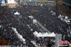 朴槿惠陷执政危机 韩在野党主张总统无条件下台