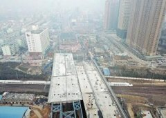 郑州农业路高架又获重要进展 五一将部分互通京广快速路