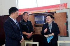 县长张颖波到古城乡调研扶贫攻坚、人居环境改善和乡村振兴等工作