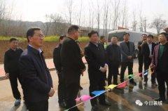 县委书记宁伯伟对我县城建项目进行实地调研