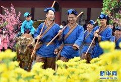 【新华网】2018中国(开封)清明文化节开幕 60项文化活动展古城风韵
