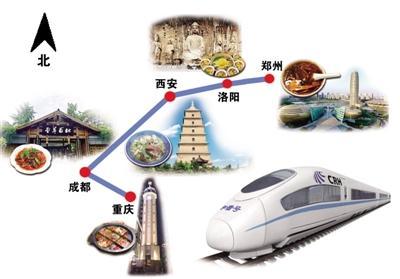 郑州到重庆有始发高铁了!沿途全是美景美食