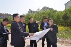 县长马同和调研黄河路征迁工作进展状况