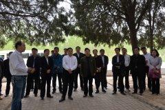 省林业厅厅长刘金山莅临我县调研林业生态建设工作