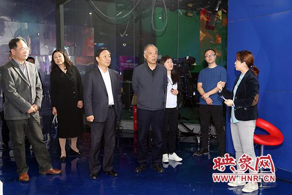 """郑州新区国税局""""一对一""""走访大象融媒体集团"""