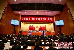 映象直播:河南省十三届人大一次会议开幕