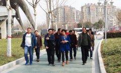 县创建办组织到中牟县考察学习省级园林县城创建工作
