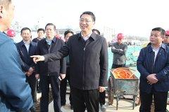 市长刘尚进等市领导到龙江生态城项目现场办公