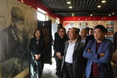 市委党校县处级干部培训班学员到宁陵县观摩指导基层党建工作