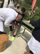 商城县人民医院:西河踏青健步走    医疗保健稳后方――商城县人民医院为2018年全国徒步大会(商城站)保驾护航