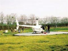 惠济区开展飞机防治林业有害生物工作
