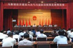 马寨镇召开经济建设与大气污染防治统筹发展推进会