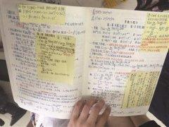 """南理工评选学霸""""十大最美笔记""""(图)"""