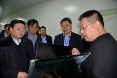 市政协主席曾昭宝带队到我县调研重点项目建设情况