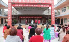 武陟县举办河南省第三个艺术普及周之百姓文化超市戏迷培训班