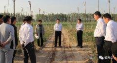 西华县县长田庆杰就造林绿化工作现场办公