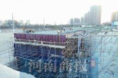 金水路西延工程新进展:铁路代建部分9月底可完工