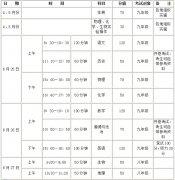 河南初中学业水平考试将开始 成绩将成为毕业和升学依据