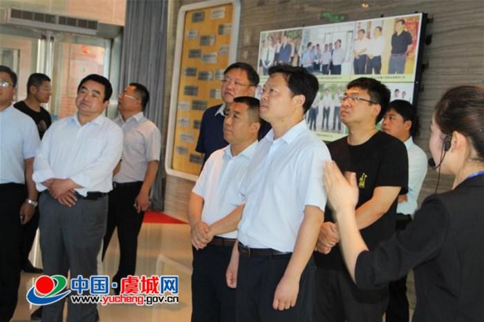 陈富磊带领城建系统负责人赴永城学习