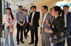 刘少宏到上海开展招商引资活动