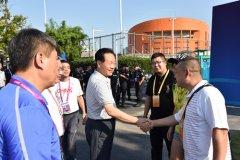 河南省学生体育代表团参加第十三届全国学生运动会载誉而归