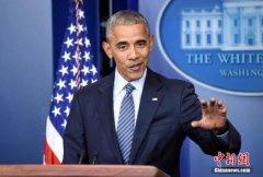奥巴马发表感恩节讲话吁团结 亲自上阵分发火鸡