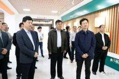 中华全国供销合作总社监事会主任宋璇涛一行到西华县调研