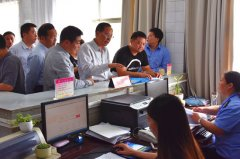 张广东到我市调研工商登记制度改革及三十五证合一工作开展情况