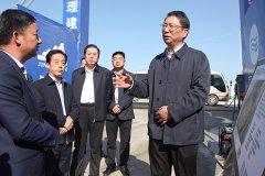 市长刘尚进到舞阳县调研全国文明城市创建工作、百城建设提质工程和重点企业