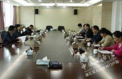 市委党校党委书记、常务副校长王为民到我区调研党校建设工作情况