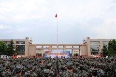 惠济区举行民兵整组点验大会
