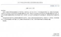 上期所:关于锌铅品种实施交易限额制度的通知