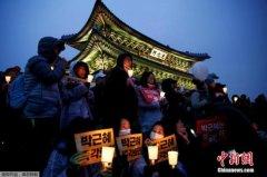 """韩媒:韩""""挺朴派""""元老议员将建议朴槿惠主动下台"""