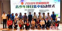 郑州市管城区团区委联合多部门举行2018年管城回族区青少年项目集中启动仪式