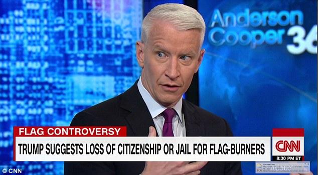 据《每日邮报》30日报道,本周二晚上CNN金牌主播安德森・库珀在《AC360》新闻节目上针对唐纳德・特朗普在推特上的反CNN言论进行回击,公开与特朗普作对。