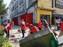 商城县食品药品监督管理局积极组织开展全县城市清洁行动