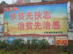 镇平县卢医镇多措并举加大扶贫宣传攻势