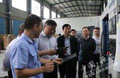 王继周专题调研乐通源德福科技有限公司发展情况