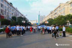 县城环境整治持续发力市民齐声点赞!