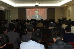 省教育厅认真组织机关干部收看党的十九大开幕式