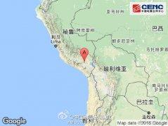 秘鲁南部附近发生6.0级左右地震