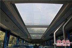 全景天窗渐成标配 郑州公交一公司新进20台纯电动双层公交车