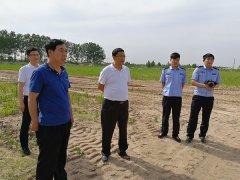 区长马军督导检查饮用水源地环境保护专项行动问题整改工作开展情况