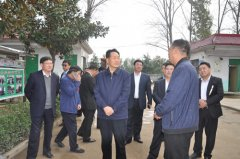 省教育厅厅长朱清孟到尉氏县水黄村调研扶贫情况