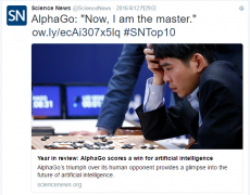 Master横扫中日韩顶尖棋手 人工智能造就棋魂?